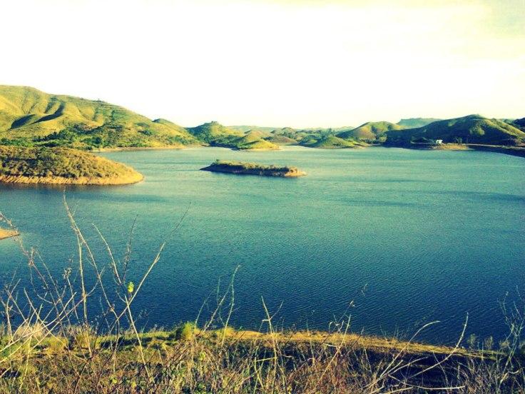 The beautiful Mother Dam in Ubay, Bohol