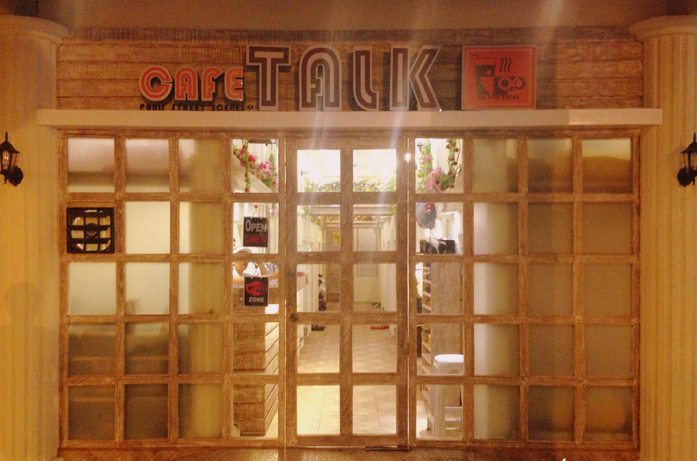 Cafe Talk - entrance