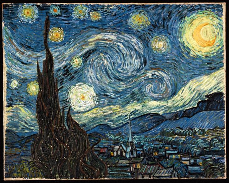 Starry Night - Vincent Van Gogh (Source: Google)