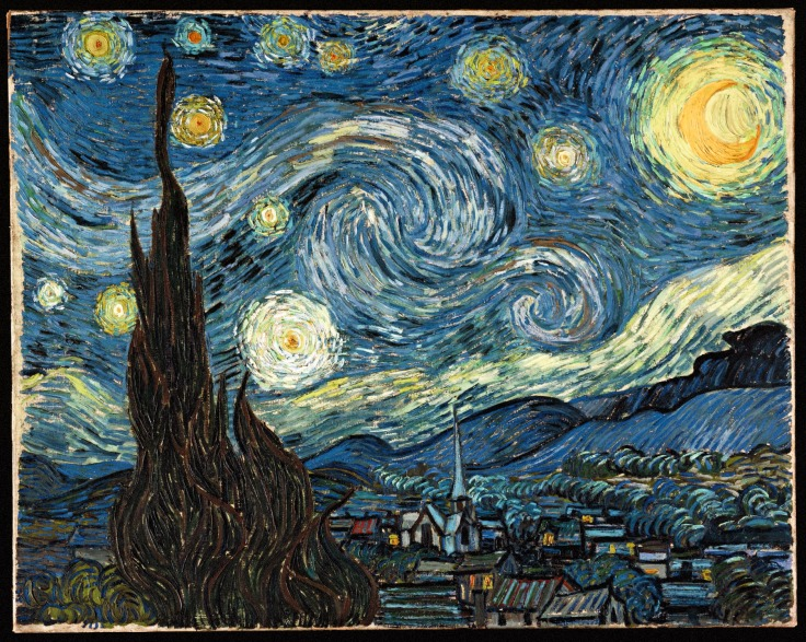 Starry Night - Vincent Van Gogh (Source: Google)
