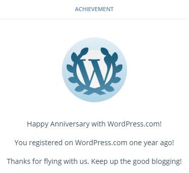 1st Blogsarry