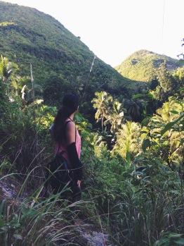 Looking at Tulong Krus from afar