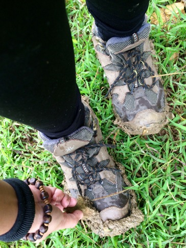 Walking on muds!